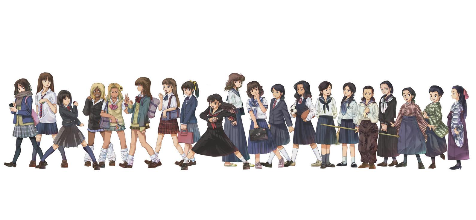 1870年代から現代まで☆女子高生制服の進化史!!